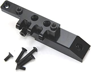 ST Racing Concepts STA80072FBK Heavy Duty Aluminum Front Servo Mount Block and Upper Link Mount for The Axial Wraith, Black