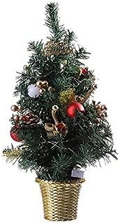 JYEMDV 50CM Artificial Christmas Tree Gold Simulation Bamboo Basket Base Decoration Holiday Props