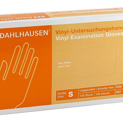 Vinyl Handschuhe ungepudert S, 100 St