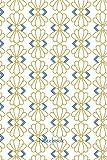 Carnet de notes ligné - Motif Art Déco: Carnet de notes, motif Art Déco, 240 pages lignées, 6x9po, Notebook