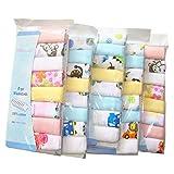Pack de 8 paños de muselina extra suaves para recién nacido, 2 capas, algodón...