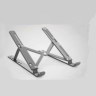 FACAZ Soporte para portátil Que Ahorra Espacio Ajustable, Universal, Ligero, Plegable, portátil, aleación de Aluminio, Bas...