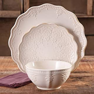 Best the pioneer woman farmhouse lace 12-piece dinnerware set Reviews