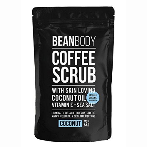 Bean Body Körperpeeling aus Kokosnusskaffee