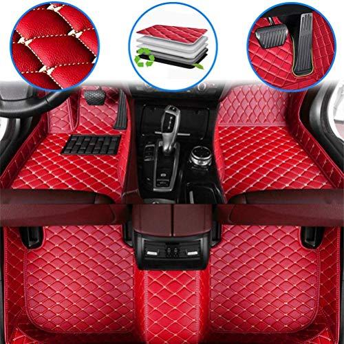 Alfombrillas Para 99% modelo de coche Alfombra del piso Auto, Moquetas Antideslizantes Cuero, Alfombrillas Delanteras
