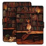 Ayotu Estuche de Colores para Kindle Paperwhite-Se Adapta a Todas Las Generaciones de Paperwhite anteriores a 2018(No se Ajusta a la 10ª generación de Paperwhite, K5-09 The Library
