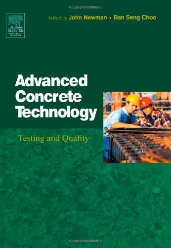 Advanced Concrete Technology 4: Testing and Quality (English Edition)