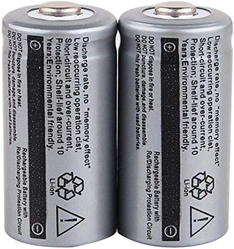 Rechargeable Battery 3.7V 2500Mah Li-Ion Rechargeable Batteries 16340 Rechargeable Battery for Cr123A