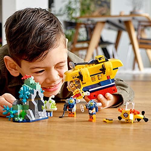 LEGO 60264 City Oceans Exploration Submarine Deep Sea Underwater Set, Diving Adventure Toy for Kids