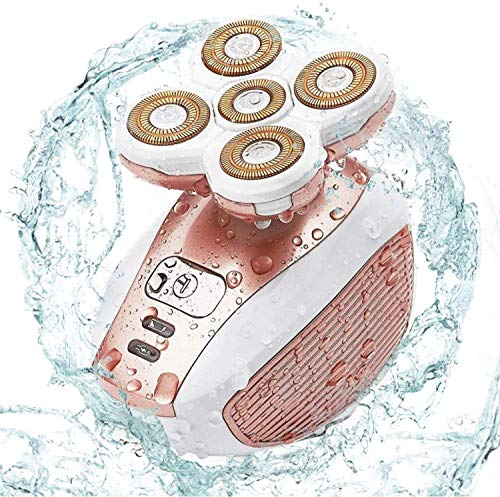 Damenhaar-Rasierer, Damen-Elektrorasierer, Haarentfernung für Gesicht Körperlippen Arm Unterarme Achselhöhle - USB Wiederaufladbarer und kabelloser Bikini-Trimmer Rasierapparat Epilierer