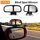 Blind Spot Mirrors for car motorbike 2Pack Right & Left 360 Degree Adjustable