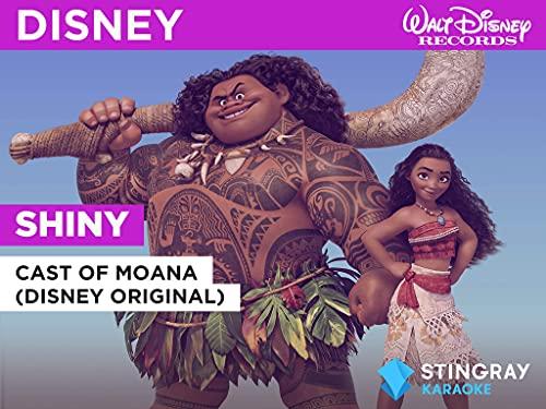 Shiny in the Style of Cast of Moana (Disney Original)