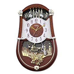 Rhythm Clocks Concerto Entertainer II Musical Motion Clock