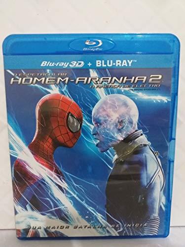 Blu-ray O Espetacular Homem Aranha 2 Ameaça De Electro 2d 3d
