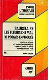Les fleurs du mal / Baudelaire / Réf5532 - Hatier - 01/01/1987