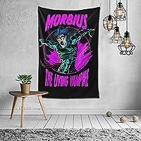 Morbius The Living Vampire タペストリー ポスター 壁掛けタペストリー タペストリー 壁掛け壁画 北欧 風景画 多機能ファブリック装飾 個性ギフト寝室 カーテン 新築祝い 結婚祝い プレゼント (150x100cm)
