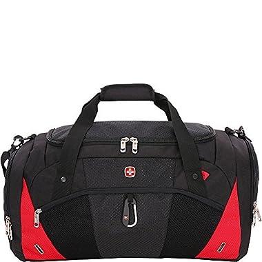 SwissGear Travel Gear 1900 Duffel (Black/Red)