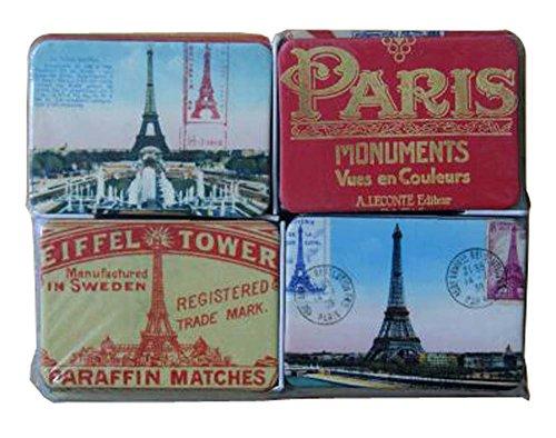 Black Temptation Set Motif 24 Classique Paris Fridge Magnet Accueil Ornements