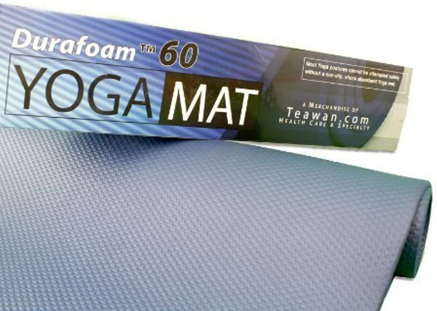Extra Thick Yoga   Exercise   Pilates Mat  Durafoam 60 by GlobMar