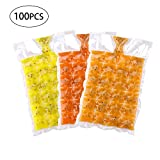Disposable Ice-100 pcs making Bags Ice Cube Tray Mold Ice Mould Summer DIY Drinking Tool Cooler Bags Ice Cube Bags Ice-making Bag Self- Faster Freezing