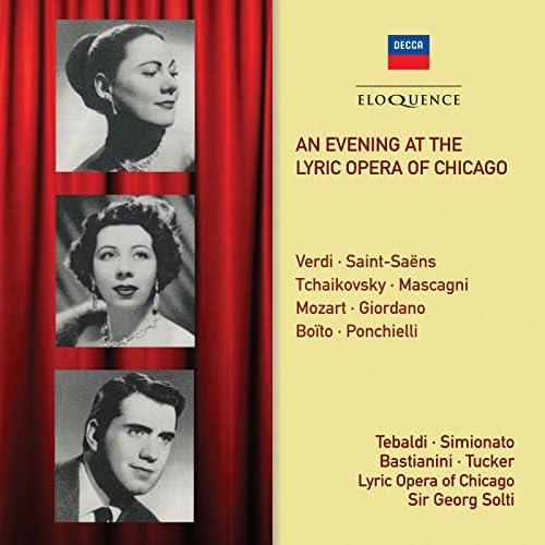 Sir Georg Solti, Renata Tebaldi, Ettore Bastianini, Giulietta Simionato, Richard Tucker & Chicago Lyric Opera Orchestra