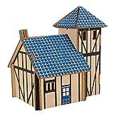 Kpcxdp Rompecabezas de Madera, con Rompecabezas 3D, Edificio, hogar, Bricolaje, Kit de ensamblaje Manual, niño, Juguetes para Goodwood para niños