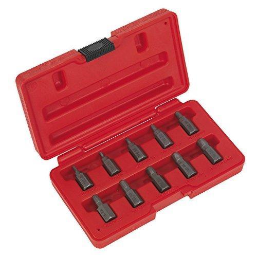 Bosch 2 608 587 012 DIN 338-1-10 mm pack de 19 Set de 19 brocas para metal ProBox HSS-R