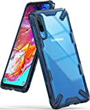 Ringke Fusion-X Designed for Galaxy A70 Case, Clear Hard PC