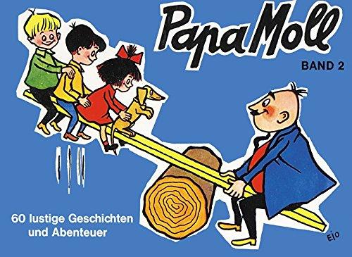 Papa Moll Band 2 (blau) : 60 lustige Geschichten und Abenteuer