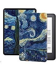 Etui Dla Amazon Kindle E-Booków - Smart Cover Dla Amazon Kindle Case Dla Kindle Paperwhite 4/3/2 Cover For Kindle Oasis Cover For Kindle Voyage Starry Sky Smart Cover For Amazon Kindle Case For K