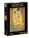 Clementoni- Puzzle 500 Piezas Klimt: El Beso (35060.5)