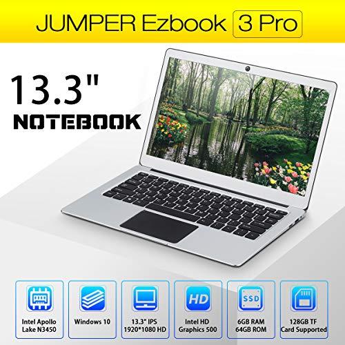 Compare Jumper Ezbook 3 Pro (Jumper 3 Pro) vs other laptops