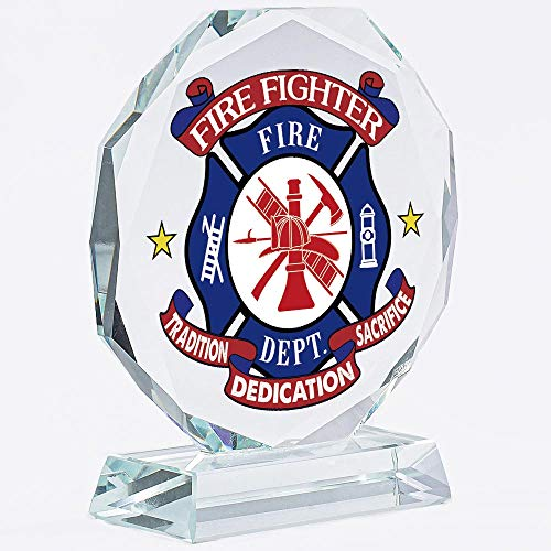 Firefighter Gifts For Men | Women | DAD | Girlfriend | Christmas | Fireman | Keepsake | Crystal