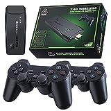 Mini consola inalámbrica USB HD Game Stick TV Consola de juegos incorporada 10000 juegos U Treasure Video Games Console Double Playe -64G