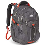 High Sierra XBT-Business Laptop Backpack, Mercury/Crimson, One Size