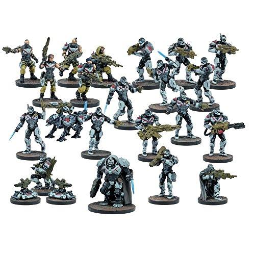 Mantic Games MGDZE101 Deadzone Enforcer Faction Starter Set