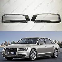 Headlight lens covers OEM (EU Quality) for Audi A8 D4 (2013-2017) Facelift - (Pair)