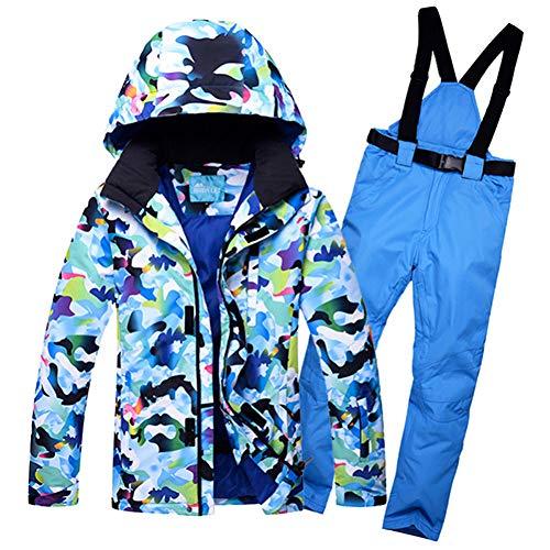 KUNHAN Heren ski-jack Heren ski-wear Winddicht Waterdicht Ski Jas En Broek Skiën Snowboard Pak Outdoor Camouflage Sneeuwkleding