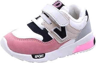 OHQ Zapatillas De Deporte NiñO BebéS NiñOs NiñAs Malla Zapatillas Luminosas Corriendo Led Zapatos De Luz Zapatillas Unisex...