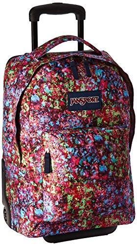 JanSport Women's Wheeled Superbreak Multi Flower Explosion Backpack