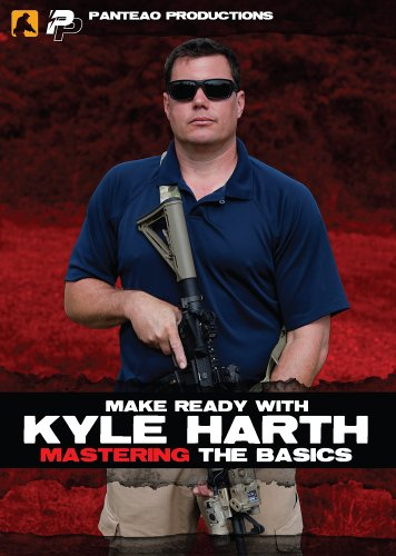 Panteao Productions: Make Ready with Kyle Harth Mastering the Basics - PMR046 - AR15 - M16 - M4 - Special Forces - Green Baret - Carbine Training - Tactical Training - Karabiner - DVD