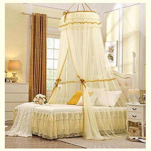 Muggennet voor kinderen, tipi-tent, dome-prinses-stijl, muggennet Queen Canopy muggennet tent, voor meisjes C