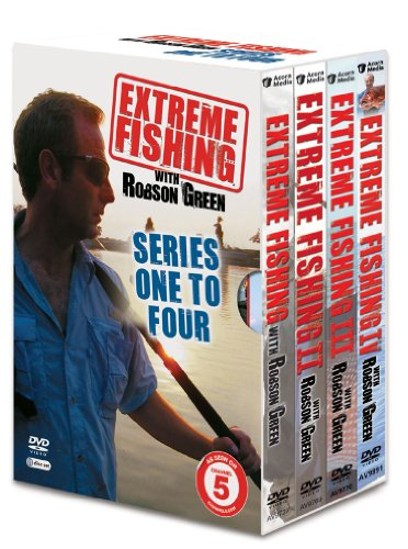 Extreme Fishing with Robson Green Series 1-4 Boxed Set [DVD]