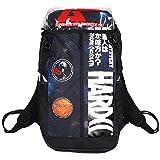 (ハードコアチョコレート) HARDCORE CHOCOLATE HARDCC×月刊ムー ギャラクシー・デイパック (BAG)(BAG-1173-BK) バッグ 鞄 リュック オカルト・ミステリー 国内正規品 F ブラック