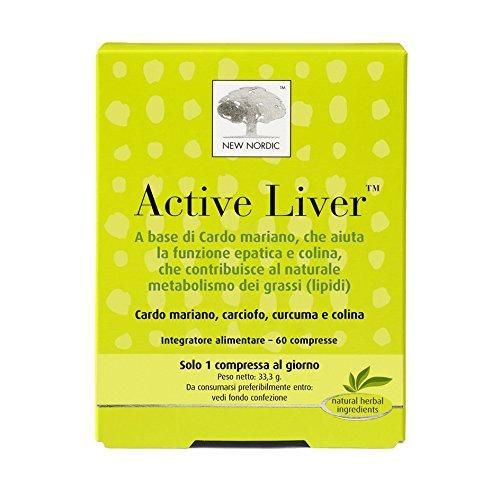 Active Liver Integratore Alimentare per il Fegato - 60 Compresse