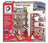 Total Super Garage Station-Service Complète-Dès 3 Ans-Fabrication européenne, 401006, Rouge Gris Noir