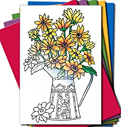 Art Eclect Adult Coloring Greeting Cards