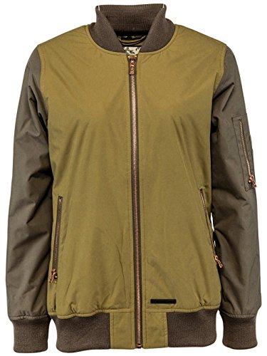 L1 Outerwear L1Avalon Brush/Military Jacke, Damen, Grün, S