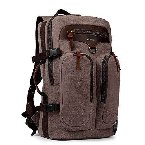 G-FAVOR Wanderrucksack Rucksack Schulrucksack Reiserucksack Trekking Tagesrucksack 45L/50L,strapazierfähig und robust mit allerlei Stauraum, für das Camping, Wandern, Outdoor Sport