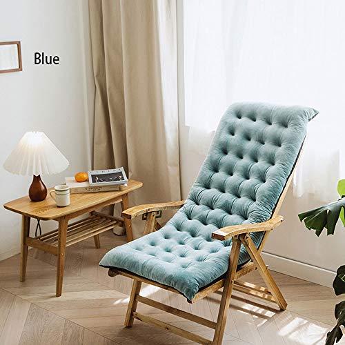 WXXT Cojín de Tumbona,cojín basculante con Respaldo Suave,Banco de cojín reclinable,Utilizado en el jardín para aliviar la ciática,una Variedad de Opciones de Color.